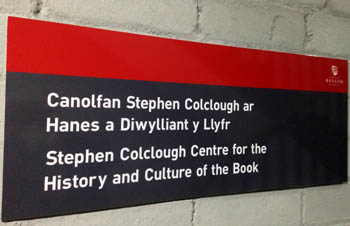 Sign for the Stephen Colclough Centre